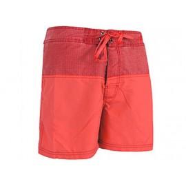 BEACH SHORT SPLIT M RED - Short de Bain Homme Waxx