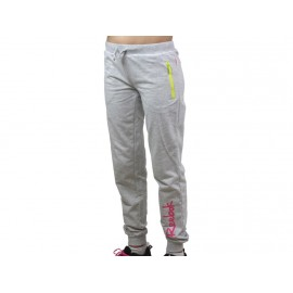 PANTS LONG GRI - Pantalon Fille Reebok