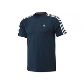 AESS 3S CREW TEE MAR - Tee Shirt Entrainement Homme Adidas