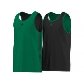 Y TEAM REV JER VER - Tee-Shirt Basketball Garçon Adidas