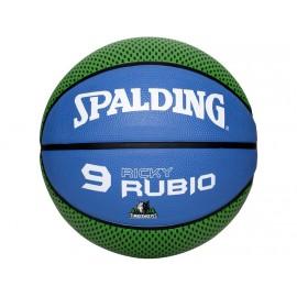 NBA PLAYER RICKY RUBIO VER - Ballon Timberwolves Basketball Spalding