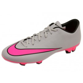 MERCURIAL VICTORY V FG GRI - Chaussures Football Homme Nike