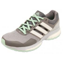 RESPONSE 2 W GRI - Chaussures Running Femme Adidas
