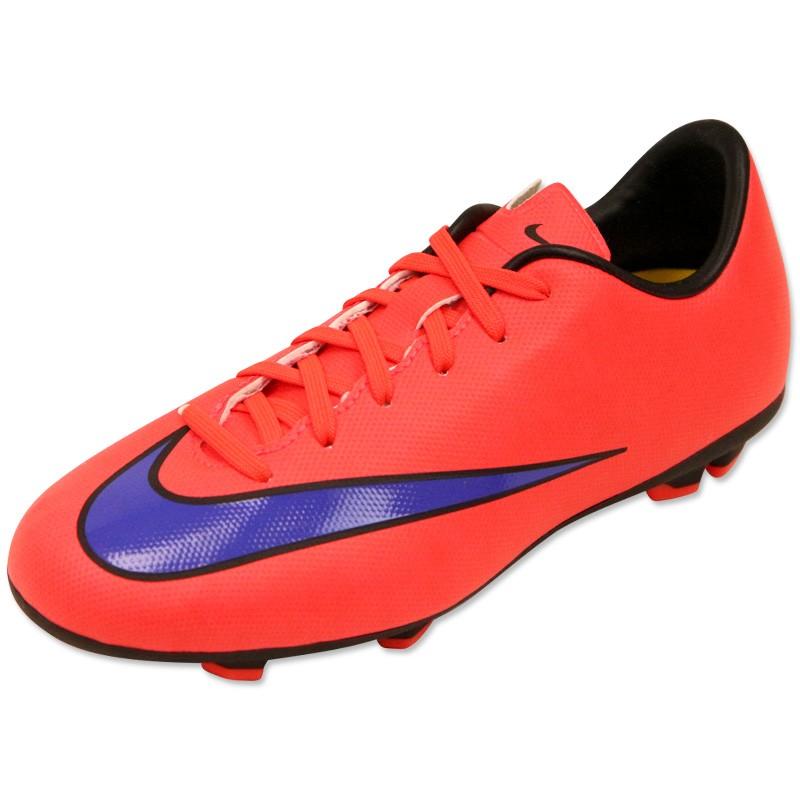 MERCURIAL VICTORY V FG JR RGE Chaussures Football Garçon Nike Ch