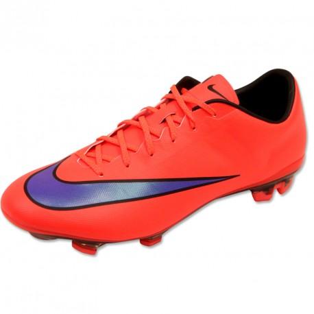 Nike Mercurial Veloce II FG Orange - Chaussures Football Homme