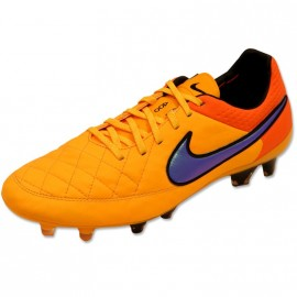 TIEMPO LEGEND V FG ORG - Chaussures Football Homme Nike