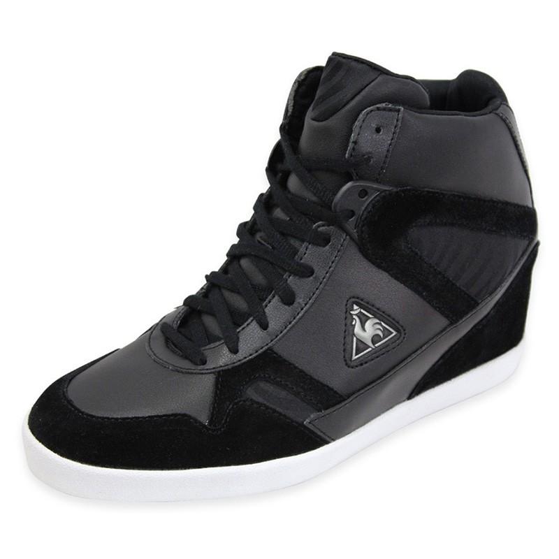 segur zebra blk chaussures femme le coq sportif chaussures de v. Black Bedroom Furniture Sets. Home Design Ideas