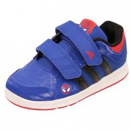 LK SPIDER-MAN CF I BB BLE - Chaussures Bébé Garçon Adidas