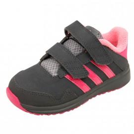 SNICE 4 CF I BB GRI - Chaussures Bébé Fille Adidas