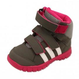 WINTER MID I BB GRI - Chaussures Bébé Fille Adidas