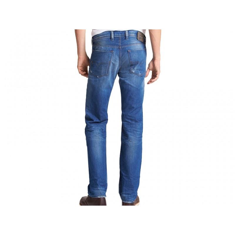 waykee 823u l34 jean ble jeans homme diesel pantalons. Black Bedroom Furniture Sets. Home Design Ideas