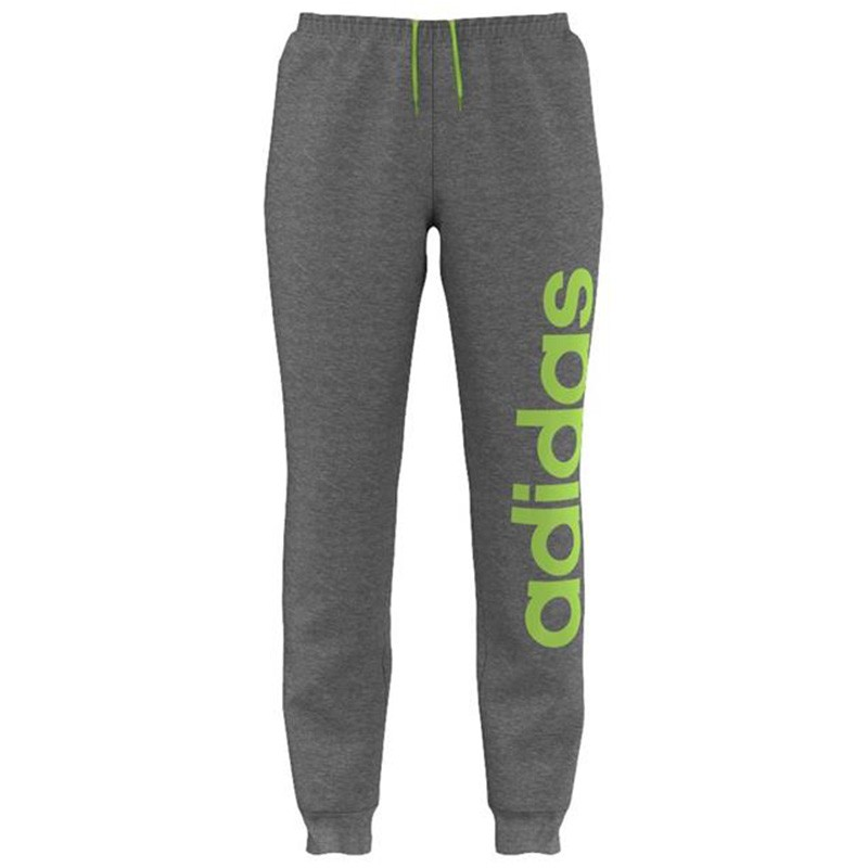 ESS LIN PANT CH M GRI Jogging Homme Adidas Pantalons