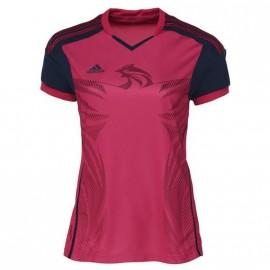 HB FK JERSEY W RGE - Maillot Handball FFHB Femme Adidas