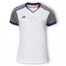 HB FK JERSEY W BLC - Maillot Handball FFHB Femme Adidas