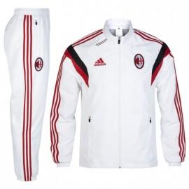 ACM PRES SUIT M BLC - Survêtement Football AC Milan Homme Adidas
