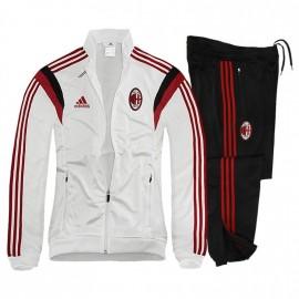 ACM PES SUIT M BLC - Survêtement Football AC Milan Homme Adidas