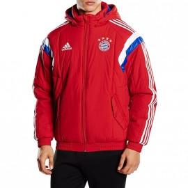 FCB PAD JKT M RGE - Doudoune Football Bayern Munich Homme Adidas