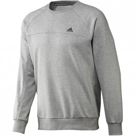 ESS LICREW SW GRY - Sweat Entrainement Homme Adidas