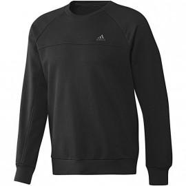 ESS LICREW SW BLK - Sweat Entrainement Homme Adidas