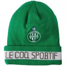 ASSE BEANIE VER - Bonnet Football Homme ASSE Le Coq Sportif
