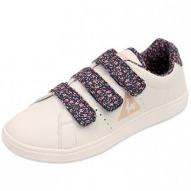 COURTONE GIRL JR BLC - Chaussures Fille Le Coq Sportif