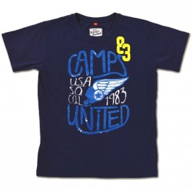 SO COOL MAR - Tee shirt Garçon Camps