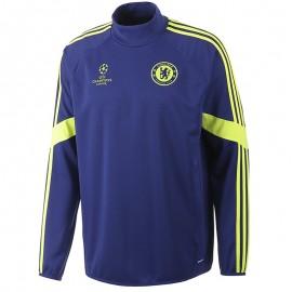 CFC EU TRAINING TOP M BLE - Sweat Football FC Chelsea Homme Adidas