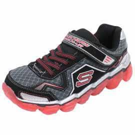 BOYS SKECH AIR BKD - Chaussures Garçon Skechers