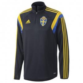 SVFF TRAINING TOP M MAR - Sweat Football Suède Homme Adidas