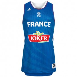 FFBB JSY M BLE - Maillot Basketball Homme Adidas