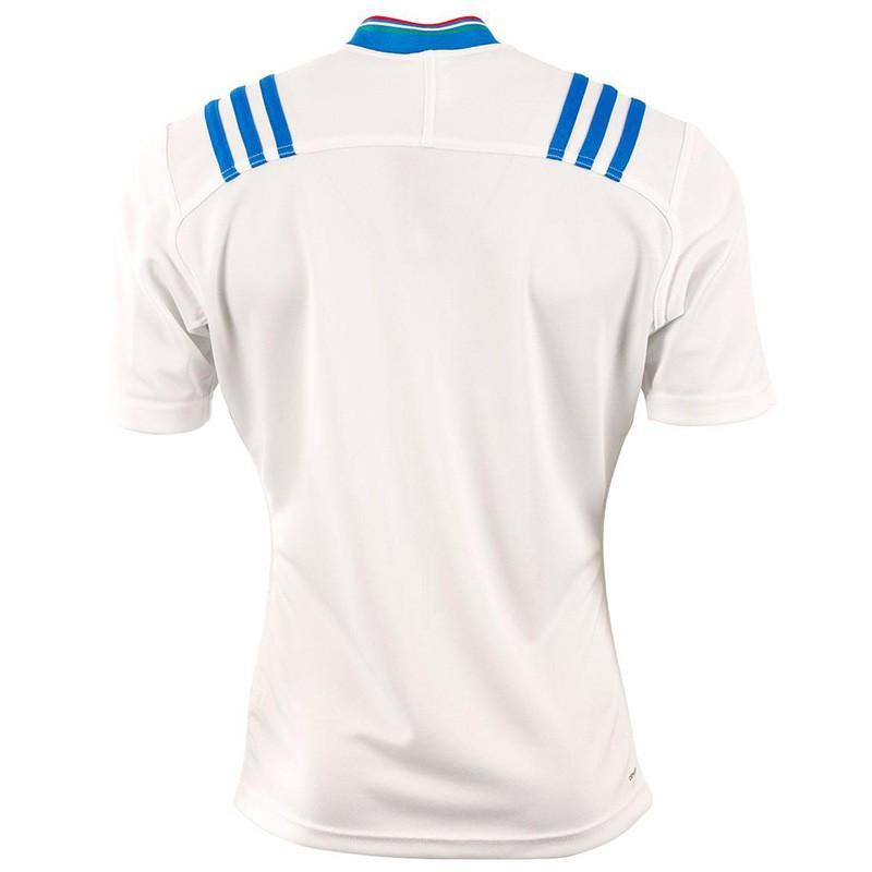 FIR A JSY M BLC Maillot Rugby Italie Homme Adidas