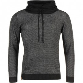 SWEAT PAMPIL MEN BLK - Sweat Homme Biaggio Jeans