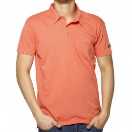 POLO LOANEL MEN MC SLUB COR - Polo Homme Biaggio Jeans