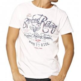 TEE FARGO ML MEN BLA - Tee-shirt Homme Biaggio Jeans