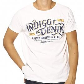 TEE FIDEL ML MEN BLA - Tee-shirt Homme Biaggio Jeans