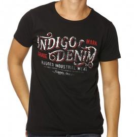 TEE FIDEL ML MEN NR - Tee-shirt Homme Biaggio Jeans