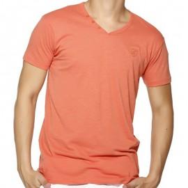 TEE LORIKEL MC SLUB COR - Tee-shirt Homme Biaggio Jeans