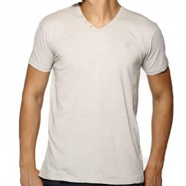 TEE LORIKEL MC SLUB LIG - Tee-shirt Homme Biaggio Jeans