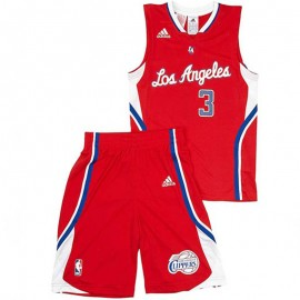 Y  JRSY/SHORT ROU - Maillot + Short Basketball Clippers Garçon Adidas