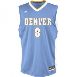 INT REPLICA JSY NBA DENVER M CIE - Maillot Denver Nuggets Basketball Homme Adidas