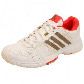 BARRICADE COURT W BLC - Chaussures Tennis Femme Adidas