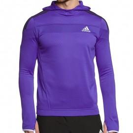 RSP HOODIE M BLV - Sweat à Capuche Running Homme Adidas