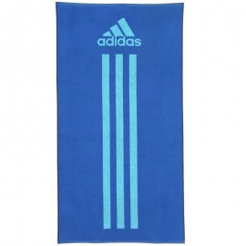 ADIDAS TOWEL L BLE - Serviette Natation Adidas