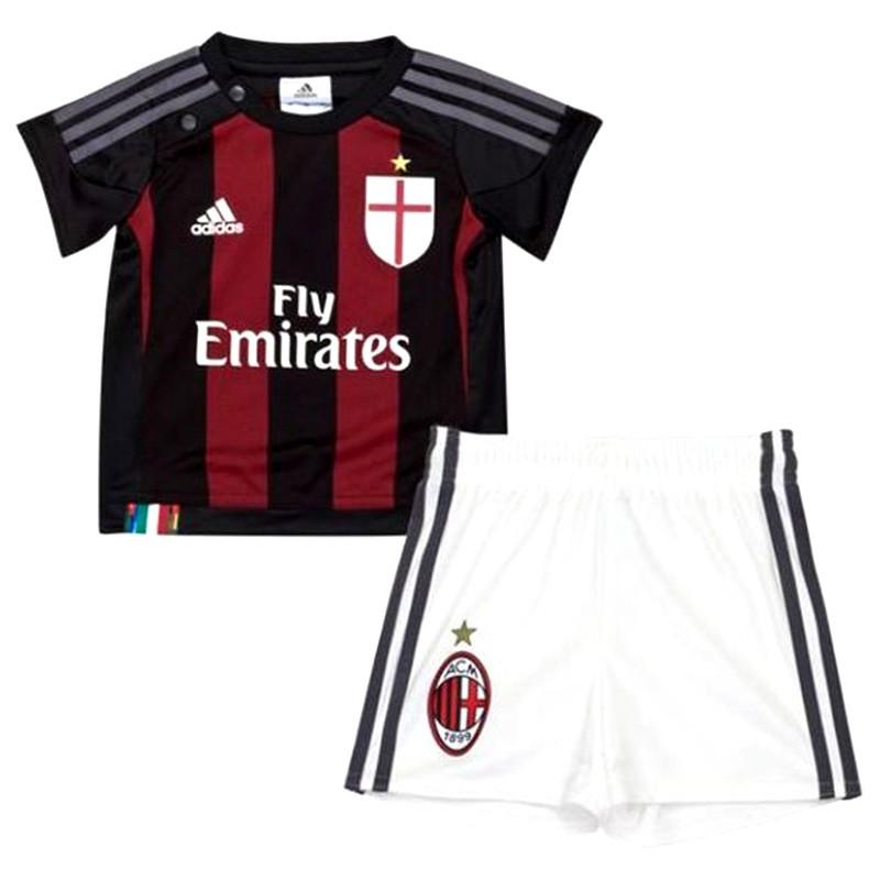 6227c3103b734 ACM BABY BB RGN - Ensemble Football AC Milan Bébé Garçon Adidas - M...