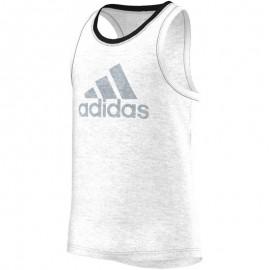 AUTHENTIC TANK M BLC - Top Entrainement Homme Adidas