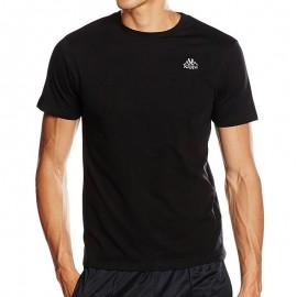 ESSOR TEE-SHIRT M BLK - Tee shirt Homme Kappa