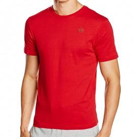 ESSOR TEE-SHIRT M RED - Tee shirt Homme Kappa