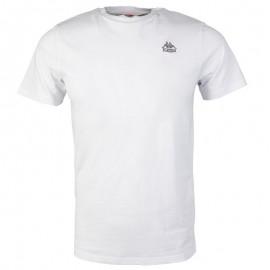 ESSOR TEE-SHIRT M WHI - Tee shirt Homme Kappa