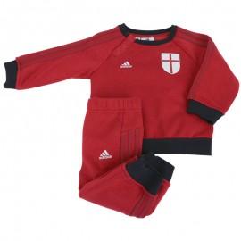 ACM CO BABY JOGGER ROU - Survêtement Football AC Milan Bébé Garçon Adidas