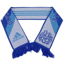 OM 3S SCARF BLE - Echarpe Olympique de Marseille Football Homme Adidas